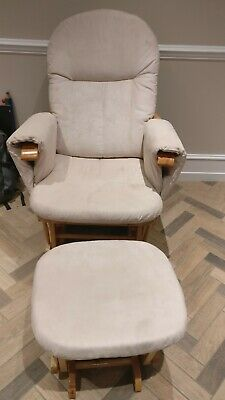 Nursery Rocking Chair With Footstool • 70£