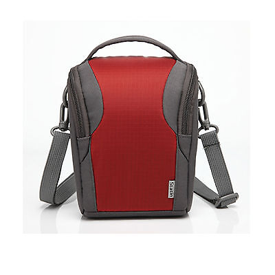 $ CDN24.68 • Buy Red Nylon Shoulder Camera Case For SONY ILCE A6400/a6400L/a6400M,a9, A7R III/7RM