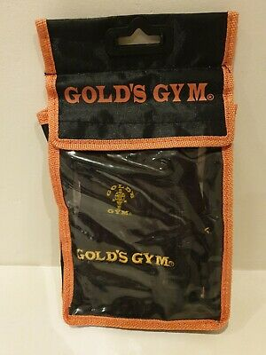 £5.10 • Buy Gold Gym Max Lift Leather Weight Lifting Gloves Body Building Exercise Training
