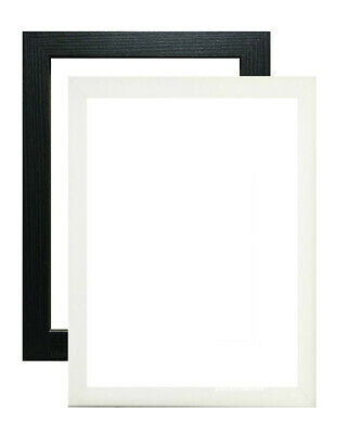A1 A2 A3 A4 A5 Photo Frame Picture Frame Poster Frame In Black White Many Sizes • 5.45£