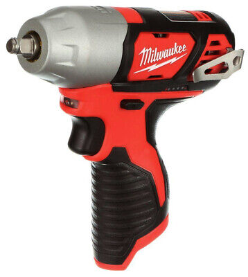Milwaukee Impact Wrench M12V 3/8 Anvil Cordless Drill Power TOOL ONLY 2463-20 • 99.99$