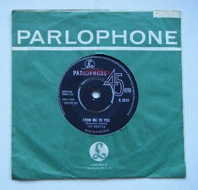 £9.99 • Buy The Beatles: From Me To You - 7  45 RPM Vinyl Single (1st Pressing)