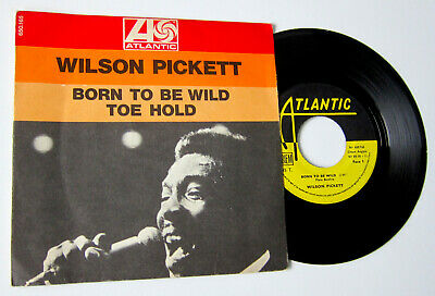 £6.99 • Buy Wilson Pickett **born To Be Wild** French Ps Picture Sleeve 45