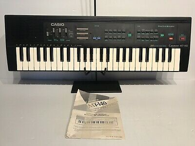 $99.99 • Buy Casio Casiotone MT-140 Electronic Keyboard & Guide Working Vintage
