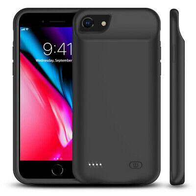 AU64.59 • Buy 6000mAh Slim Battery Charger Charging Power Case For IPhone 6 6s 7 8 - AU Stock