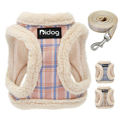 £7.99 • Buy Warm Dog Harness And Lead Winter Pet Cat Puppy Vest Clothes Coats For Chihuahua