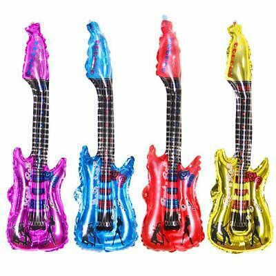 Inflatable Foil Air Guitar - Pinata Toy Loot/Party Bag Fillers Childrens/Kids • 1.79£