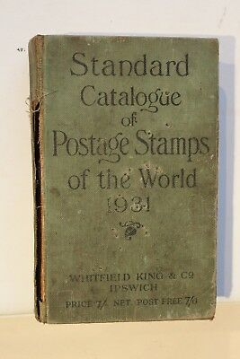 £14 • Buy Stamp Catalogue  Standard Catalogue Of Postage Stamps Of The World 1931