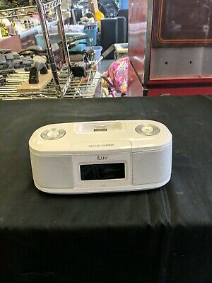 AU8.08 • Buy Iluv IPod IPhone Dock Speaker Radio Alarm Clock IMM153 As Is