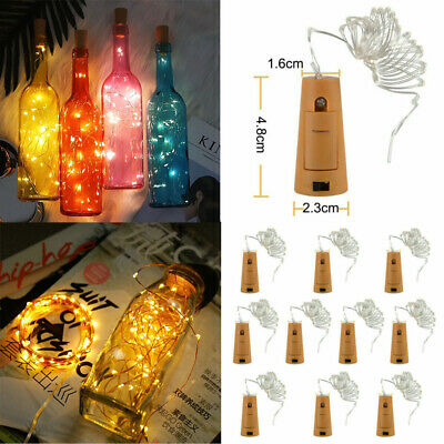 1-10X LED Fairy Micro Copper Wire DIY String Lights Starry Festival Party Decor • 11.28£