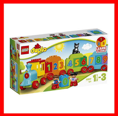 AU20.99 • Buy LEGO DUPLO Number Train 10847 Playset Toy BRAND NEW FAST AND FREE POSTAGE
