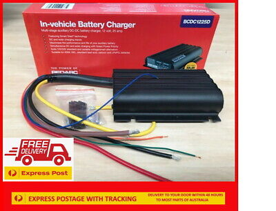 AU479.99 • Buy REDARC Battery Charger 12V 25A 3 Stage Auto BCDC1225D FAST FREE EXPRESS DISPATCH