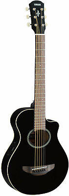 AU386.30 • Buy Yamaha Apx T2 Travel Guitar Black - Western Guitar With Pickup