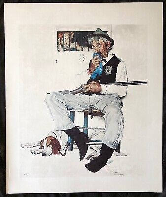 $ CDN3745.05 • Buy Norman Rockwell,  Music Hath Charm  Signed Limited Edition