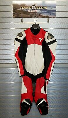 $999.95 • Buy Dainese Assen 2 1pc Perforated Leather Motorcycle Racing Riding Suit Lava-Red