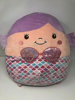 $ CDN33.03 • Buy Squishmallows 16  Denise The Mermaid Kellytoy Soft Plush Pillow NWT