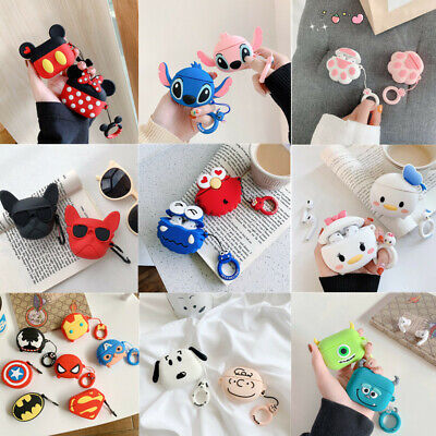 $ CDN6.56 • Buy For Apple Airpods Pro 3 Charging Case Cute Cartoon Design Silicone Cover Airpods