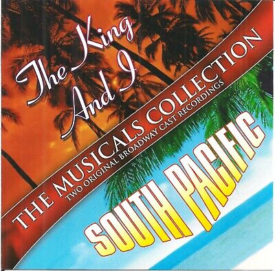 Various - The King And I + South Pacific - Original Broadway Cast Recordings CD • 1.19£
