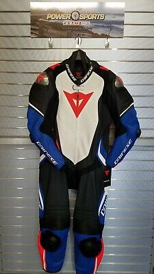 $1349.95 • Buy Dainese Leguna Seca 4 1pc Perforated Leather Motorcycle Racing Riding Suit Blue