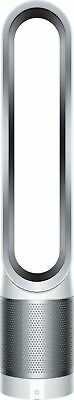 View Details Dyson - TP01 Pure Cool Tower 172 Sq. Ft. Air Purifier And Fan - White/Silver • $