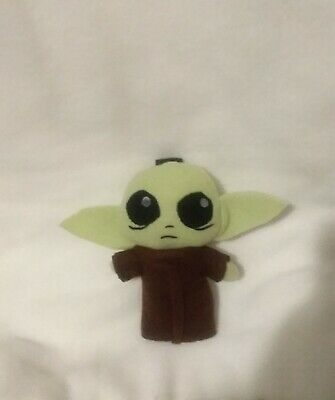 $12.99 • Buy Custom Hand Made Baby Yoda Plushie Plush Keychain