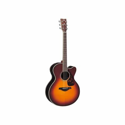 AU833.10 • Buy Yamaha FJX730SC II Electric Acoustic Guitar IN Brown Sunburst   Showroom Model