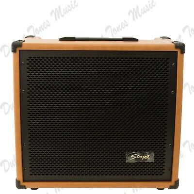 £139.95 • Buy Stagg Acoustic Guitar Amplifier Combo 60w RMS Amp *FAST POST*