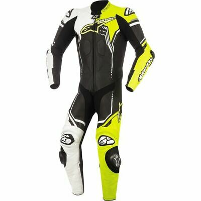 $1199.95 • Buy Alpinestars GP Plus V2 1-PC Vntd Lthr Motorcycle Suit - Blk/Wht/Ylw, All Sizes
