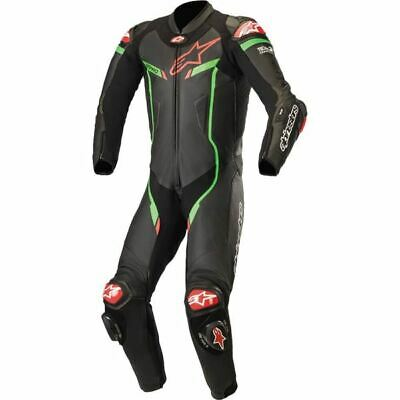 $1299.95 • Buy Alpinestars GP Pro V2  1-PC Leather Motorcycle Suit - Blk/Green/Red, All Sizes