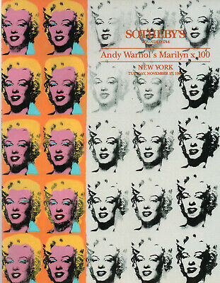 $19.99 • Buy Andy Warhol's Marilyn Monroe  SOTHEBY'S 1992 Marilyn X 100 Auction Catalog