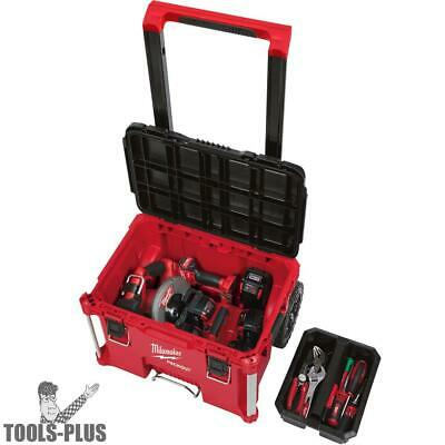 View Details Milwaukee 48-22-8426 PACKOUT Rolling Tool Box New • 119.95$