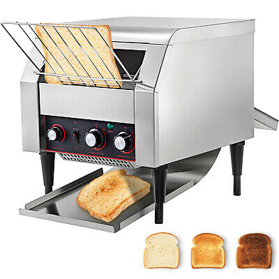 Commercial Electric Countertop Conveyor Toaster 450Pcs/H Stainless Steel • 399.97$