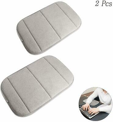 2xPortable Computer Elbow Wrist Pad Memory Cotton Desk Keyboard Arm Rest Support • 11.77£