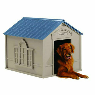 $189.99 • Buy X-Large Dog House Deluxe All Weather Outdoor Extra Durable Pet Shelter Big Dogs