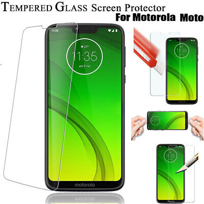 Screen Protector Guard For Motorola Moto E5 G6 G7 Play Plus Power Tempered Glass • 1.99£