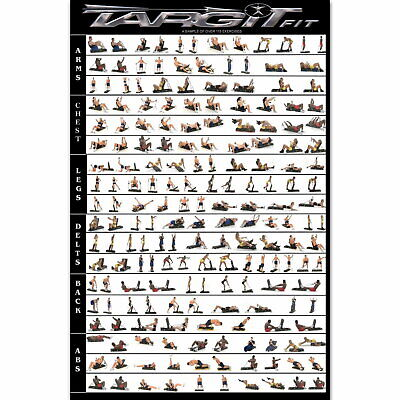 59287 Body Building Keep Fit Muscle Exercise WorkOut Wall Print POSTER UK • 37.95£