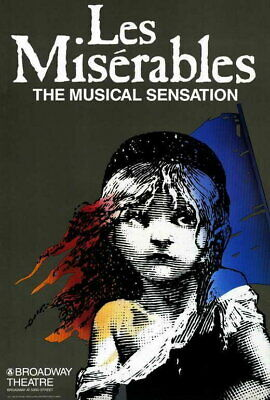 £6.95 • Buy 65951 Les Miserables Patrick A Hearn Indy Benson Wall Print POSTER UK