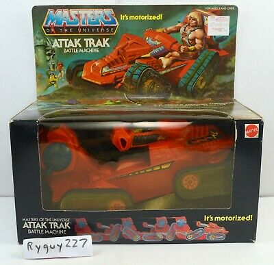 $595 • Buy MOTU, Attak Trak, Masters Of The Universe, MISB, Sealed Box, He-Man Vintage, MOC