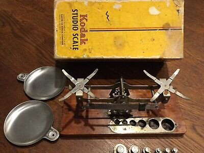 ANTIQUE VINTAGE KODAK EASTMAN STUDIO SCALES Circa1900's - Old Vintage Camera Use • 178.15£