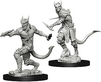 $ CDN5.28 • Buy D&D Nolzur's Marvelous Unpainted Miniatures - Male Tiefling Rogue Miniature
