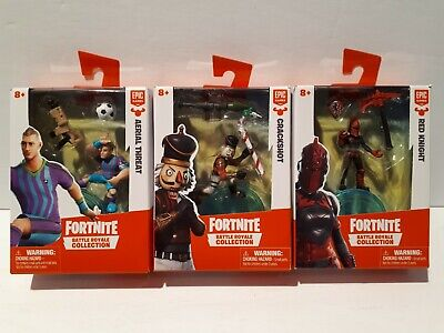 $ CDN45.99 • Buy Fortnite- Mini Figures- Set Of 3- Red Knight Ariel Assault,  Crackshot