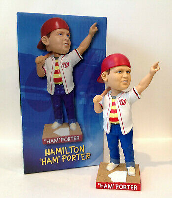 $ CDN126.81 • Buy Ham Porter 2018 Washington Nationals Sandlot Great Hambino Bobblehead Promo SGA