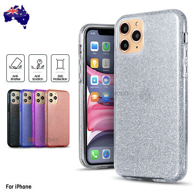 AU6.99 • Buy Shockproof Bling Glitter Case Slim Cover For IPhone 11 Pro XS Max XR 7 8 Plus