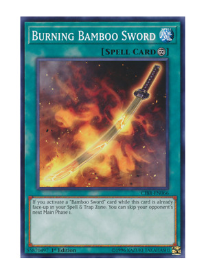 AU1 • Buy Burning Bamboo Sword X 3 (Playset) Near Mint Condition YUGIOH Cards