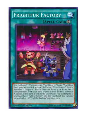 AU1 • Buy Frightfur Factory X 3 (Playset) Near Mint Condition YUGIOH Cards