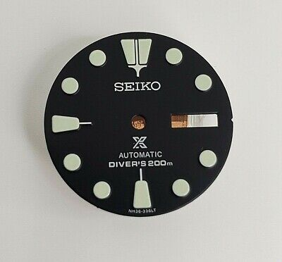 $ CDN34.05 • Buy Aftermarket Replacement Dial For 7s26-0020 Skx007 Automatic Divers Watch Prospex