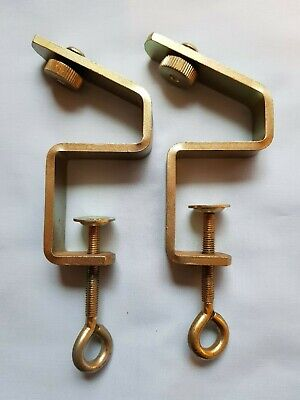 £10.99 • Buy Silver Reed Knitmaster Knitting Machine Srp50 Srp60 Srp60n Ribber Table Clamps