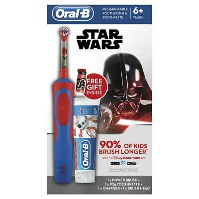 AU29.99 • Buy Oral B Kids Star Wars Gift Pack Vitality Power Toothbrush + Paste + GWP