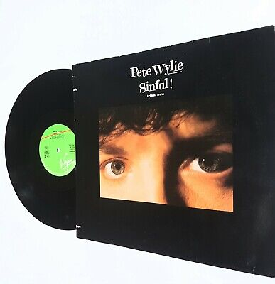 Pete Wylie / Sinful  ( Tribal Mix ) 1987 • 10£