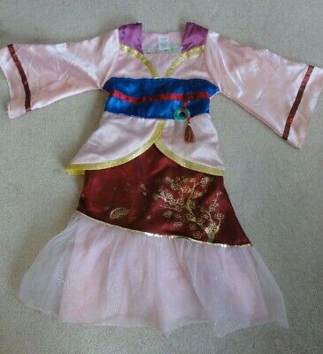 Disney Mulan Princess Costume In Size 5/6 From The Disney Store • 9.75$